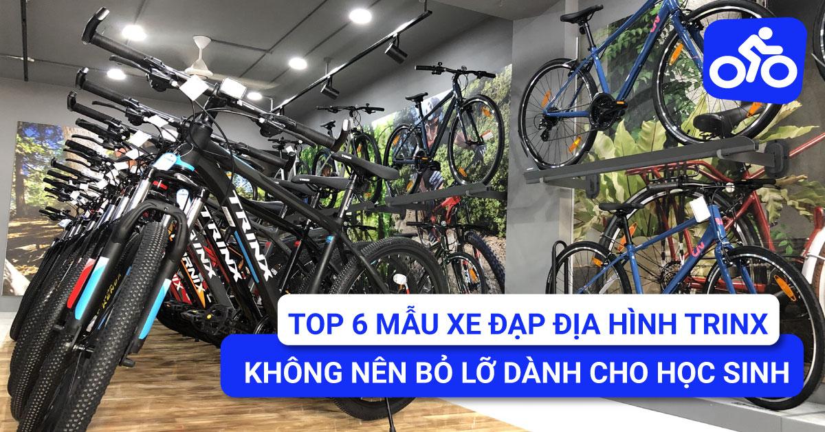 Tổng hợp 6 mẫu xe đạp địa hình TrinX không nên bỏ lỡ dành cho học sinh