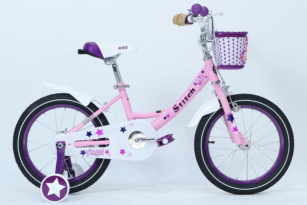 Xe đạp trẻ em STITCH JY909 - Bánh 16 inches với giá 2.490.000VND