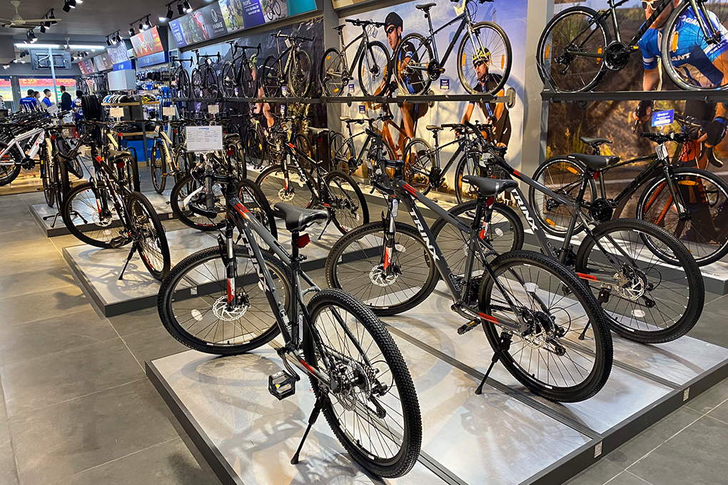 Xe đạp địa hình TrinX chỉ từ 3 triệu