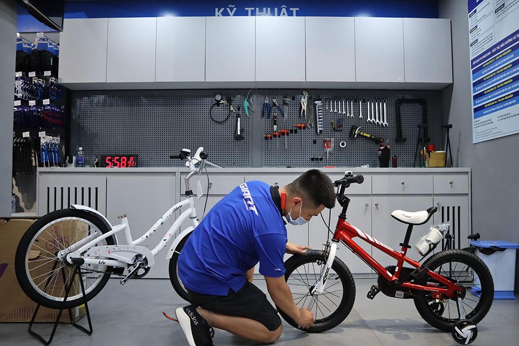 Kỹ thuật tại Xedap.vn được đào tạo kỹ lưỡng và chuyên môn cao