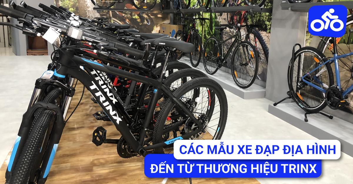 Các mẫu xe đạp địa hình đến từ thương hiệu TrinX