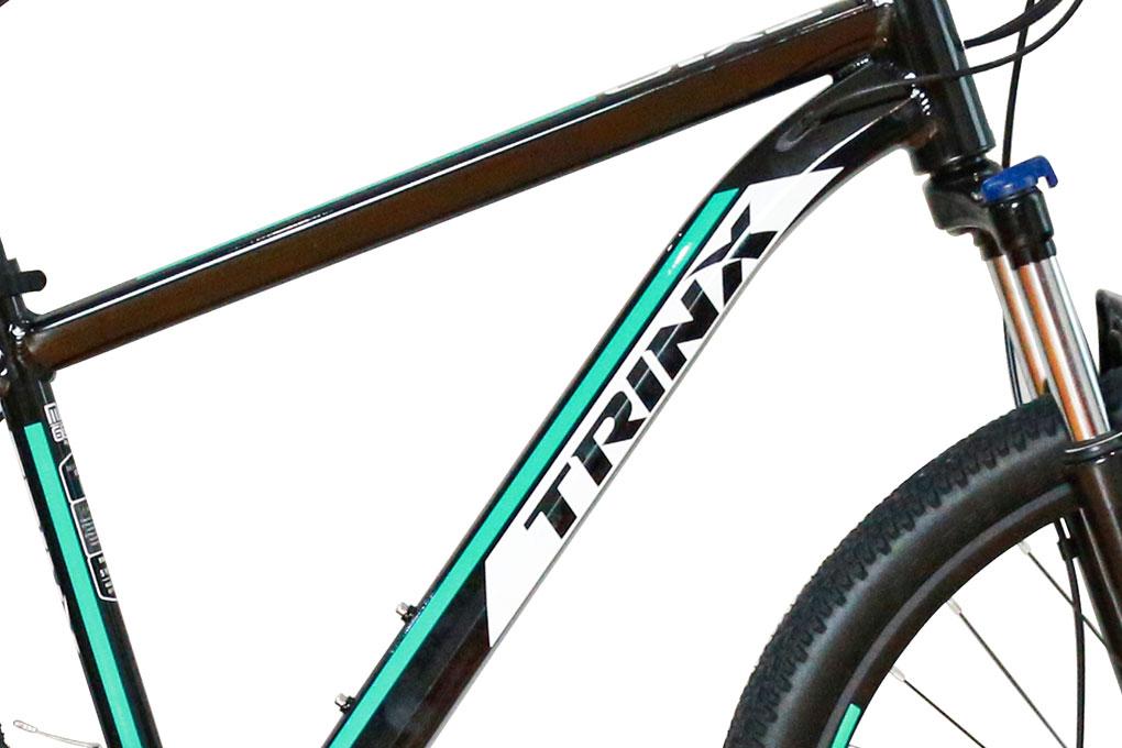 chất liệu khung Nhôm TRINX Alloy bền nhẹ